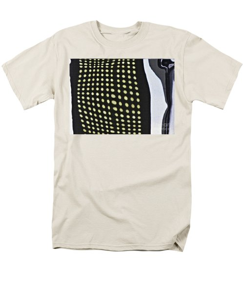Men's T-Shirt  (Regular Fit) featuring the photograph Reflection On 42nd Street 1 by Sarah Loft