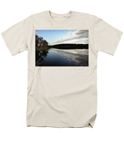Men's T-Shirt  (Regular Fit) featuring the photograph Reflections On The Lake by Chris Berry