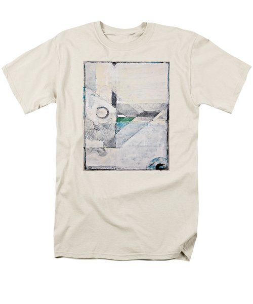 Men's T-Shirt  (Regular Fit) featuring the painting Reservoir  by Cliff Spohn