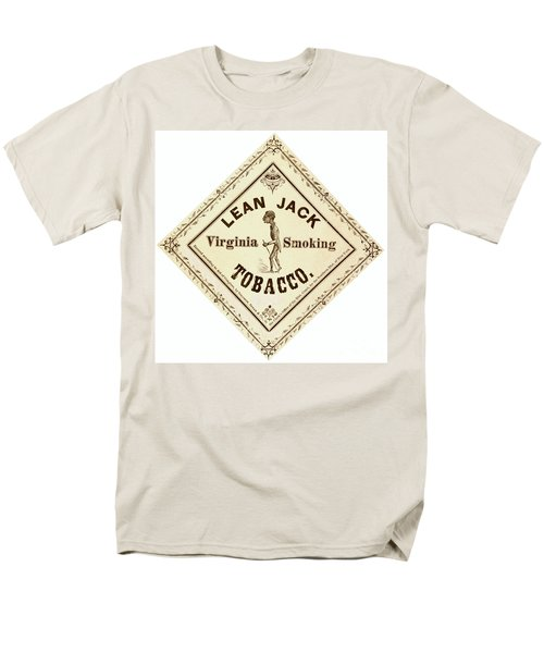 Men's T-Shirt  (Regular Fit) featuring the photograph Retro Tobacco Label 1867 A by Padre Art