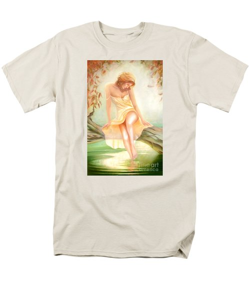 Men's T-Shirt  (Regular Fit) featuring the painting Reverie by Michael Rock