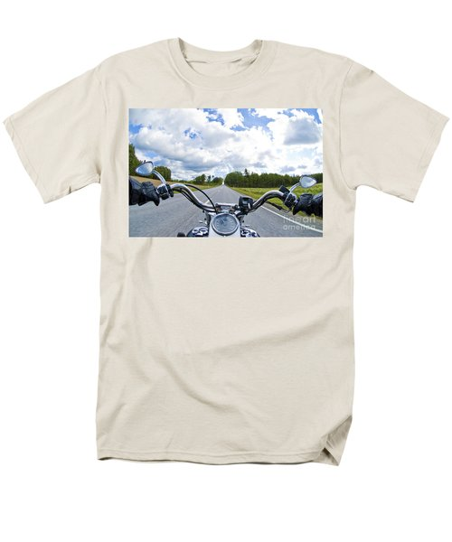 Riders Eye View Men's T-Shirt  (Regular Fit) by Micah May