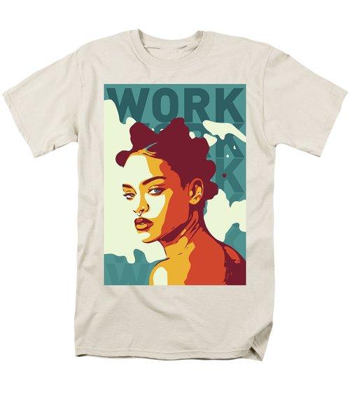 Rihanna Men's T-Shirt  (Regular Fit) by Greatom London
