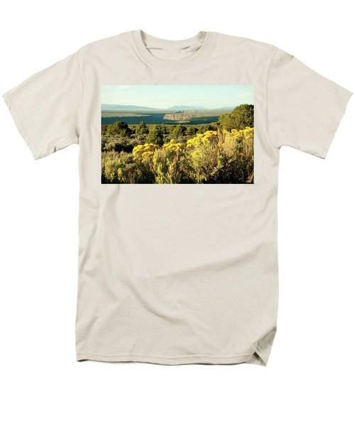 Rio Grande Gorge Men's T-Shirt  (Regular Fit) by Jim Arnold