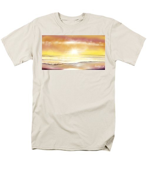 Rise And Shine Men's T-Shirt  (Regular Fit) by Dawn Harrell