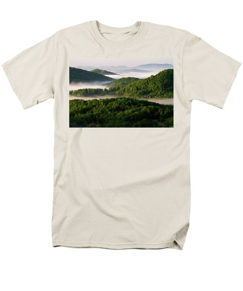 Rivers Of White Men's T-Shirt  (Regular Fit) by Deborah Scannell