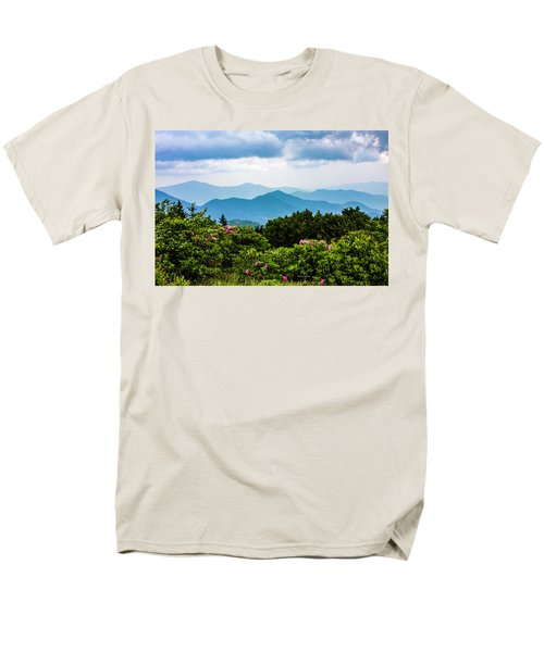 Roan Mountain Rhodos Men's T-Shirt  (Regular Fit) by Dale R Carlson
