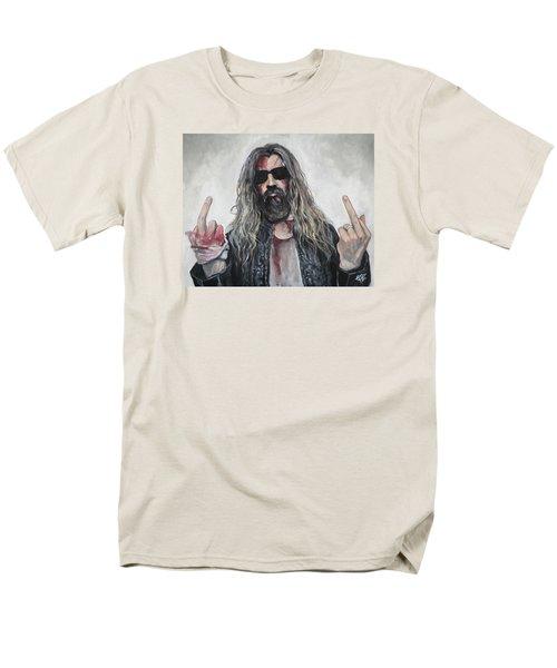 Rob Zombie Men's T-Shirt  (Regular Fit) by Tom Carlton