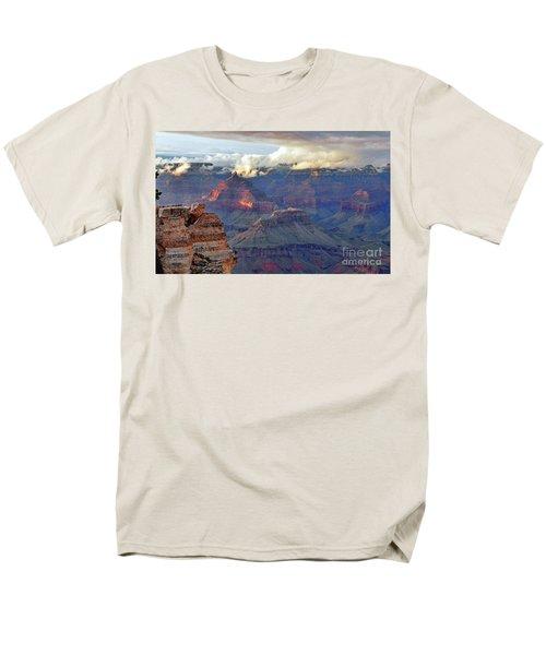Rocks Fall Into Place Men's T-Shirt  (Regular Fit) by Debby Pueschel