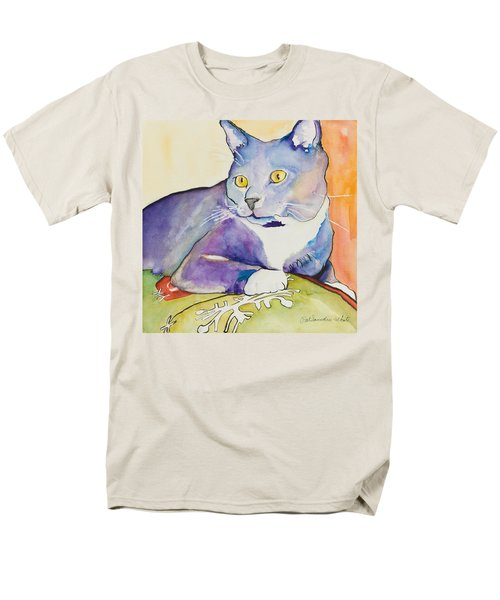 Rocky Men's T-Shirt  (Regular Fit) by Pat Saunders-White