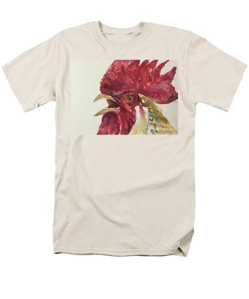 Rooster Men's T-Shirt  (Regular Fit) by Yoshiko Mishina