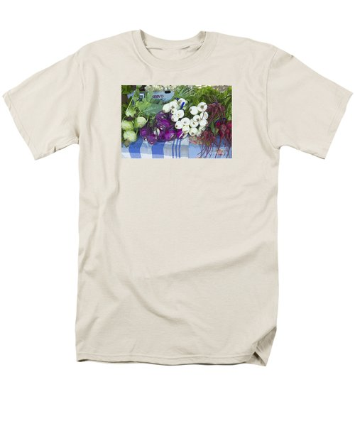 Men's T-Shirt  (Regular Fit) featuring the painting Root Vegetables by Jeanette French
