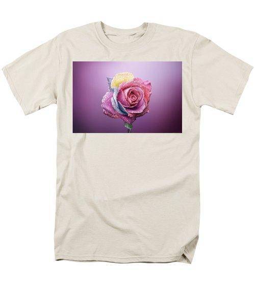 Rose Colorfull Men's T-Shirt  (Regular Fit) by Bess Hamiti
