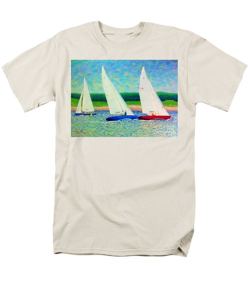 Rounding The Mark  Men's T-Shirt  (Regular Fit) by Rae  Smith