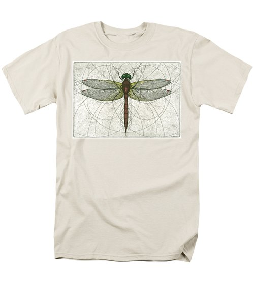 Ruby Meadowhawk Dragonfly Men's T-Shirt  (Regular Fit)