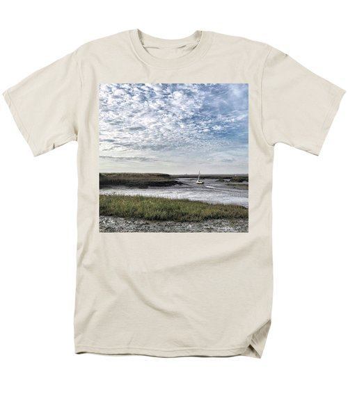 Salt Marsh And Creek, Brancaster Men's T-Shirt  (Regular Fit) by John Edwards