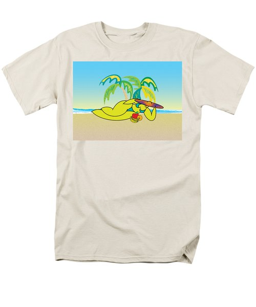 Samantha Men's T-Shirt  (Regular Fit) by Steve Ellis