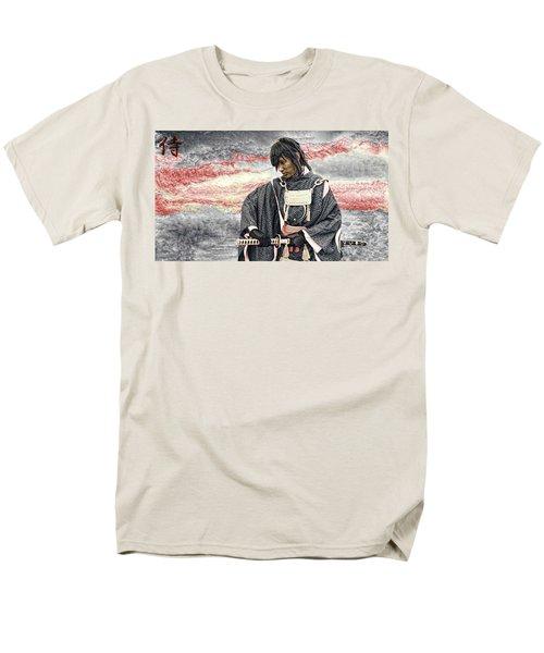 Samurai Warrior Men's T-Shirt  (Regular Fit) by Ian Gledhill