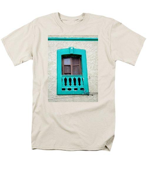 San Jose Del Cabo Window 12 Men's T-Shirt  (Regular Fit) by Randall Weidner