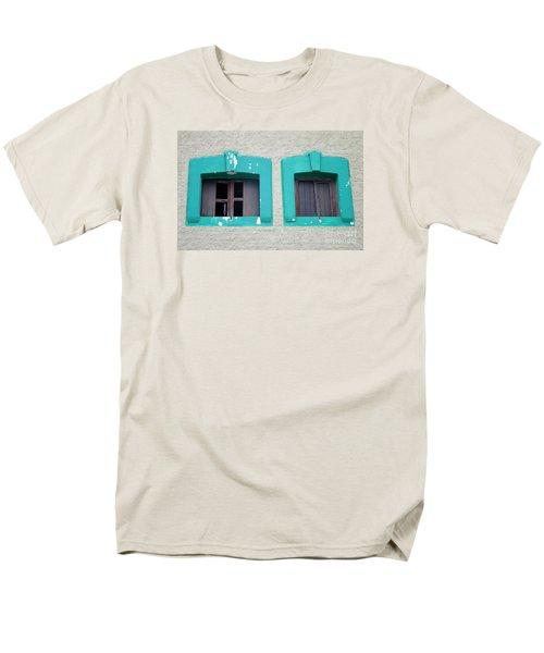 San Jose Del Cabo Windows 13 Men's T-Shirt  (Regular Fit) by Randall Weidner