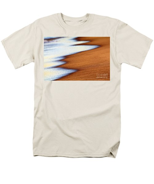 Sand And Waves Men's T-Shirt  (Regular Fit)