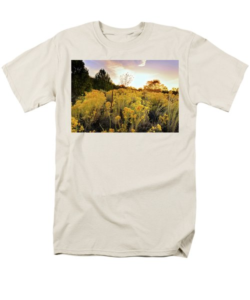 Men's T-Shirt  (Regular Fit) featuring the photograph Santa Fe Magic by Stephen Anderson