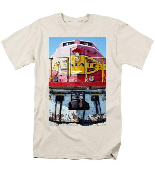 Sante Fe Railway Men's T-Shirt  (Regular Fit) by Kyle Hanson