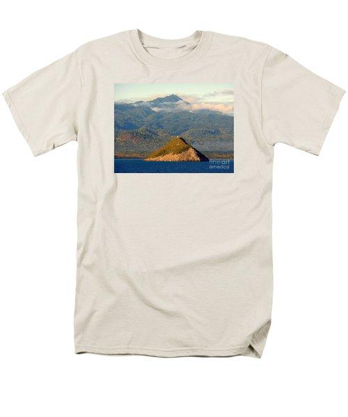 Sao Tome Africa Harbor Men's T-Shirt  (Regular Fit) by John Potts