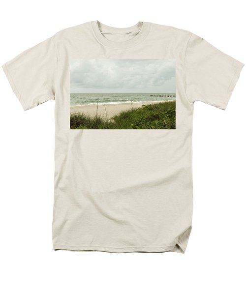 Sea Birds Awaiting The Rain Men's T-Shirt  (Regular Fit) by Christopher L Thomley