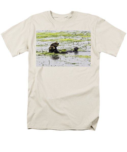 Sea Otters 1 Men's T-Shirt  (Regular Fit)