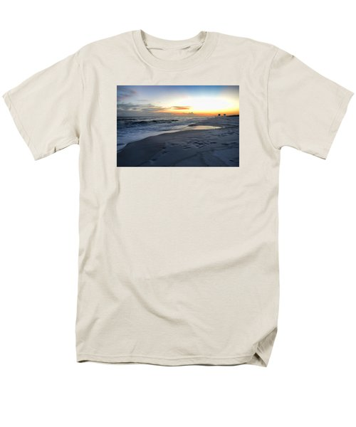 Men's T-Shirt  (Regular Fit) featuring the photograph Seaside Sunset by Renee Hardison