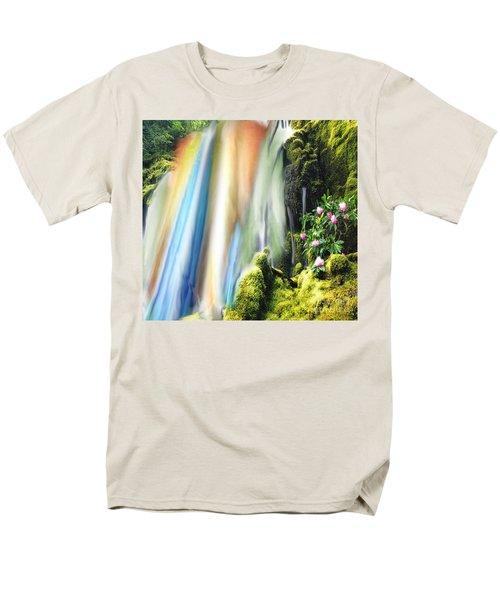 Secret Waterfall Of Life Men's T-Shirt  (Regular Fit) by Belinda Threeths