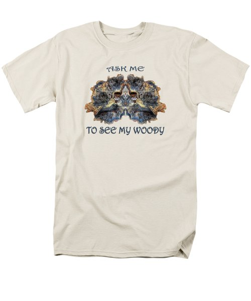See My Woody Men's T-Shirt  (Regular Fit) by Rick Mosher