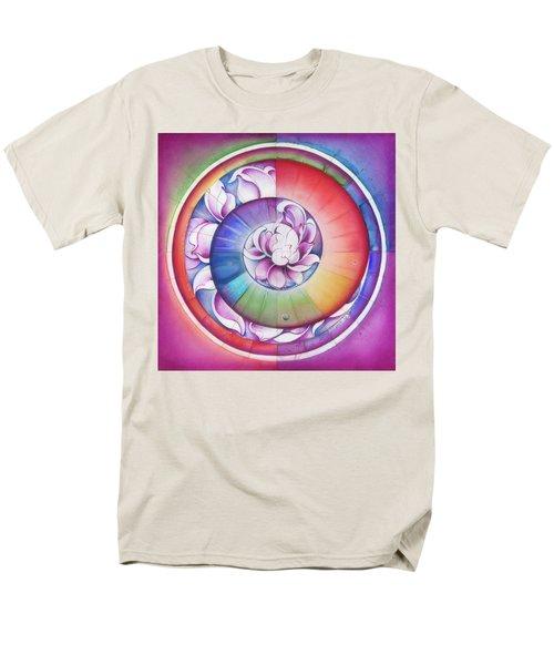 Seed Of Life - Mandala Of Divine Creation Men's T-Shirt  (Regular Fit) by Anna Miarczynska