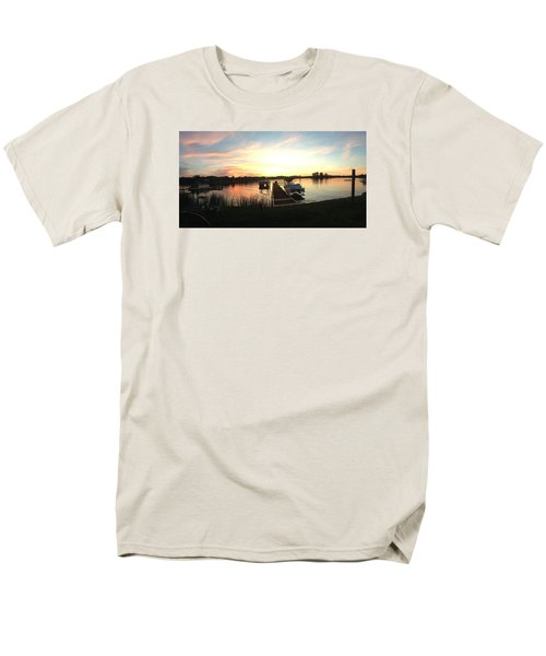 Serene Sunset Men's T-Shirt  (Regular Fit) by Rebecca Wood
