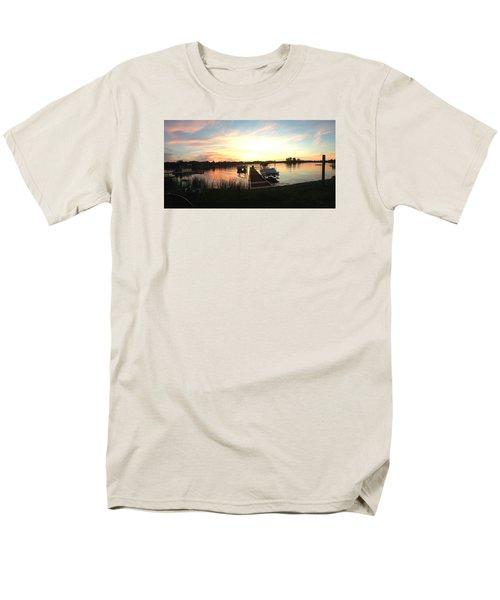 Serene Sunset Men's T-Shirt  (Regular Fit)