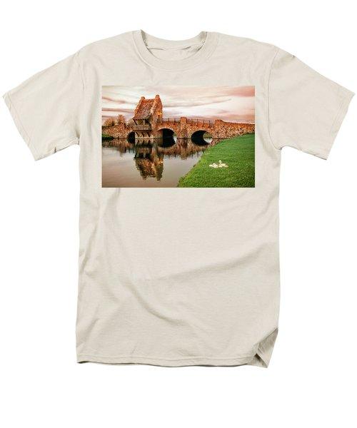 Shakespeare Bridge Men's T-Shirt  (Regular Fit) by Iryna Goodall