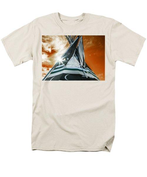 Shamans Tipi Men's T-Shirt  (Regular Fit) by Roselynne Broussard