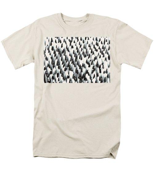 Men's T-Shirt  (Regular Fit) featuring the photograph Sharp Wooden Pencils by Evgeniy Lankin
