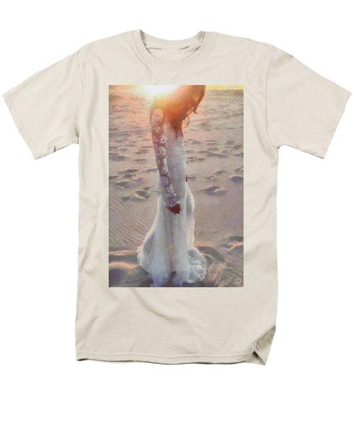 She Just Went Away Men's T-Shirt  (Regular Fit) by Gun Legler