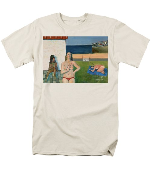She Walks In Beauty Men's T-Shirt  (Regular Fit) by Paul McKey
