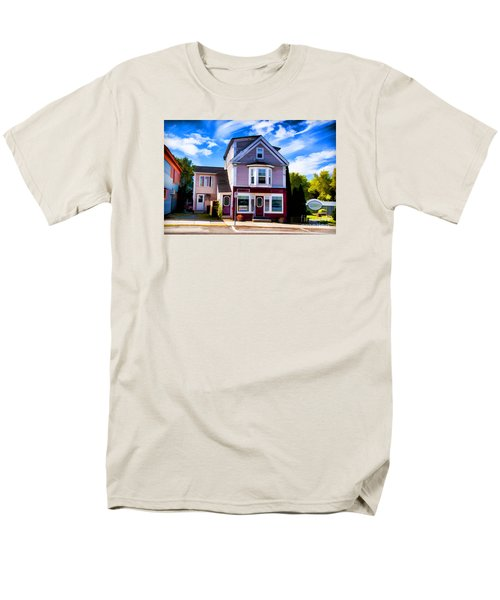 Men's T-Shirt  (Regular Fit) featuring the photograph Shelbourne Bakery by Rick Bragan