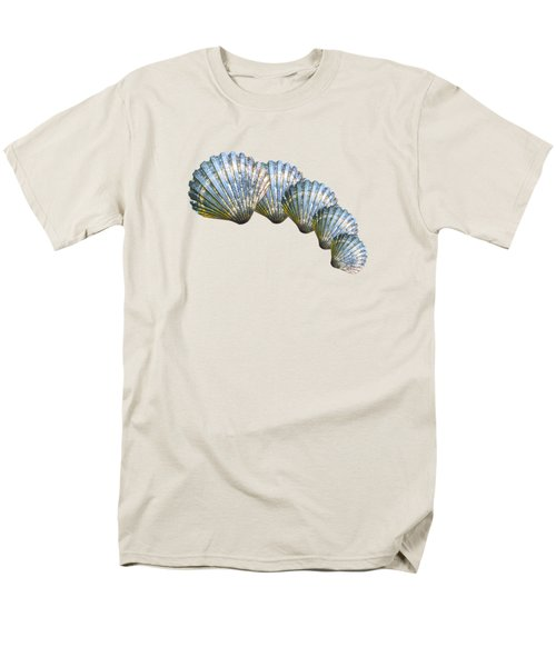 Shell Shape Design Men's T-Shirt  (Regular Fit) by Mim White