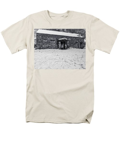 Men's T-Shirt  (Regular Fit) featuring the photograph Shepherds Cottage by Keith Elliott