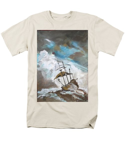 Ship In Need Men's T-Shirt  (Regular Fit) by Carole Robins