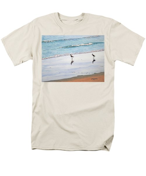 Shore Birds Men's T-Shirt  (Regular Fit) by Mike Robles