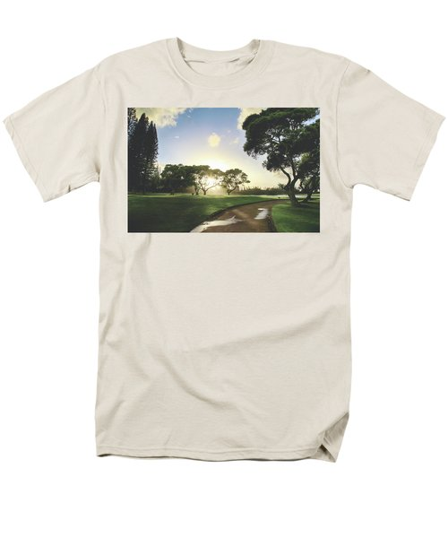 Men's T-Shirt  (Regular Fit) featuring the photograph Show Me The Way by Laurie Search