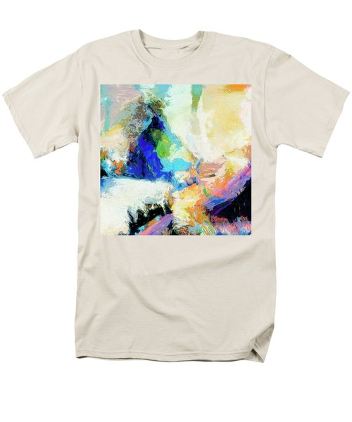 Men's T-Shirt  (Regular Fit) featuring the painting Shuttle by Dominic Piperata
