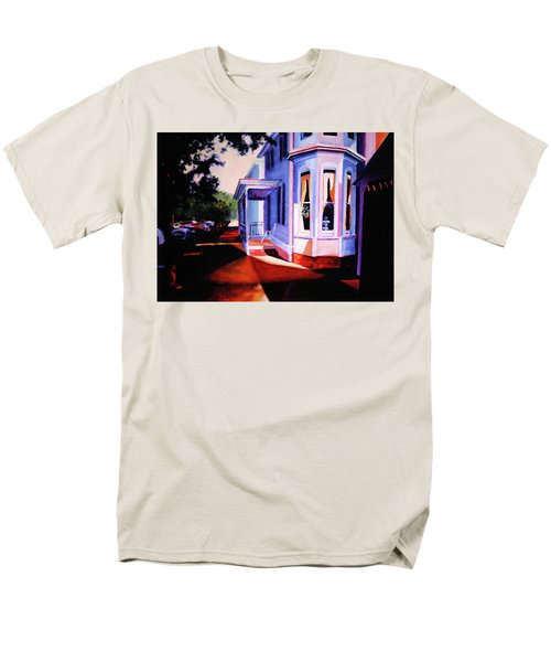 Side Street - Lambertville Men's T-Shirt  (Regular Fit) by Robert Henne