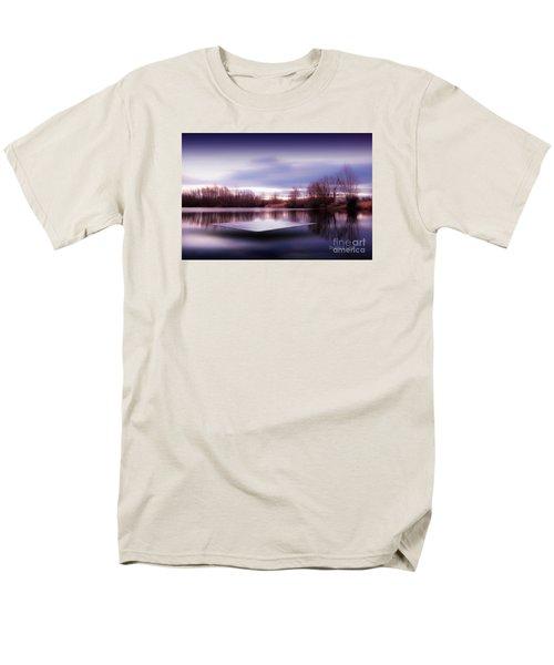 Silence Lake  Men's T-Shirt  (Regular Fit) by Franziskus Pfleghart